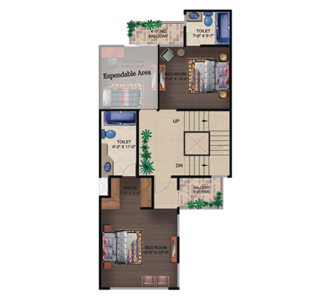 czar villas floor plan