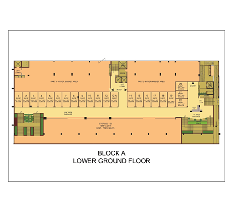 Eco Bazaar 2 Floor Plan