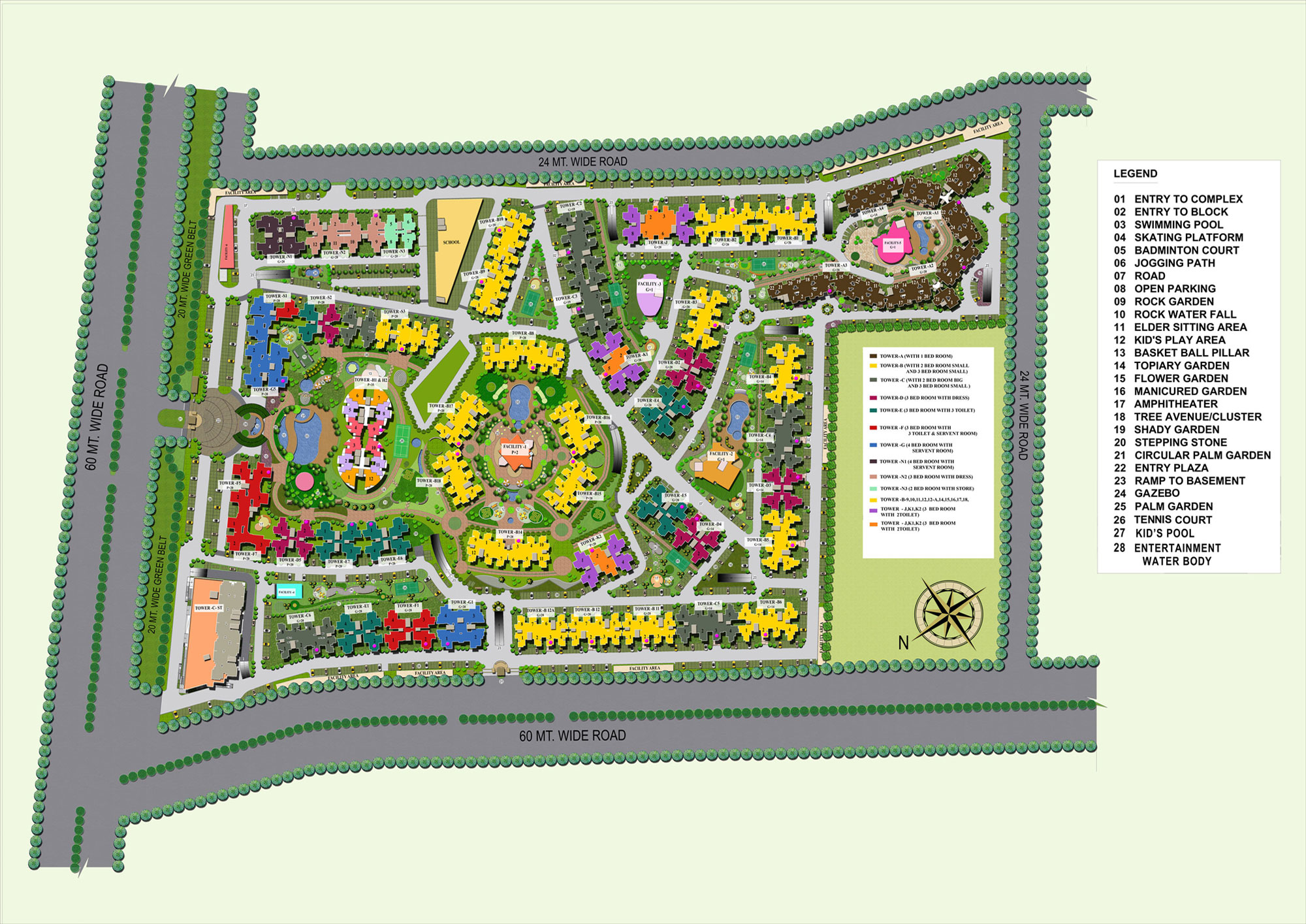 Supertech Ecovillage | 1/2/3/4 BHK Apartments in Greater Noida