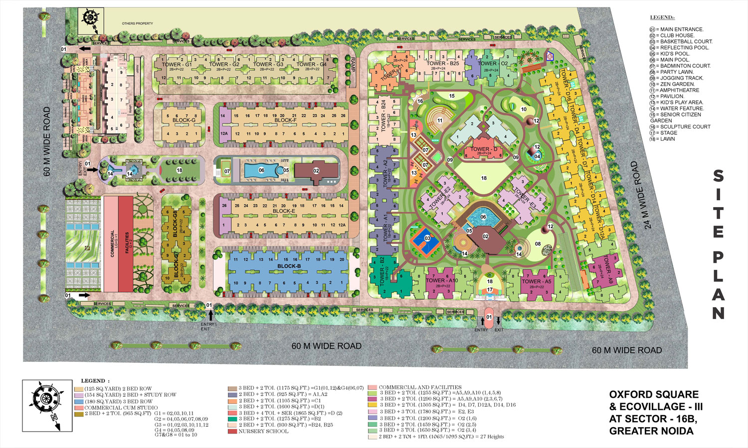 Supertech Ecovillage Iii 2 Bhk Apartments In Noida Extension