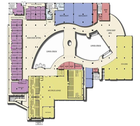 Shopprix Mall Floor Plan