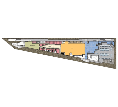 The Pentagon Mall Floor Plan